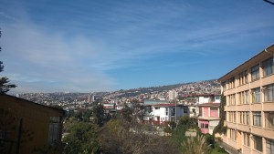 The hills of Valparaíso