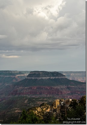 Stormy sky Steamboat Mountain Crazy Jug Point Kaibab National Forest Arizona