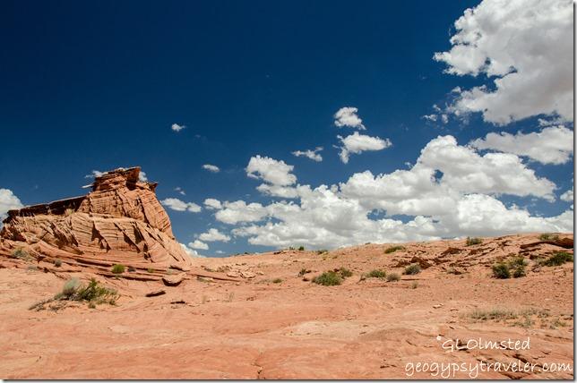 Sandstone formation Ed Maiers secret off Upper Buckskin Gulch Vermilion Cliffs National Monument Utah