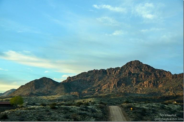 Clouds over Martin Mt. Kirkland Arizona