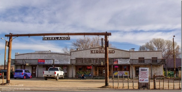 Kirkland Bar & Steakhouse Iron Springs Road Kirkland Arizona