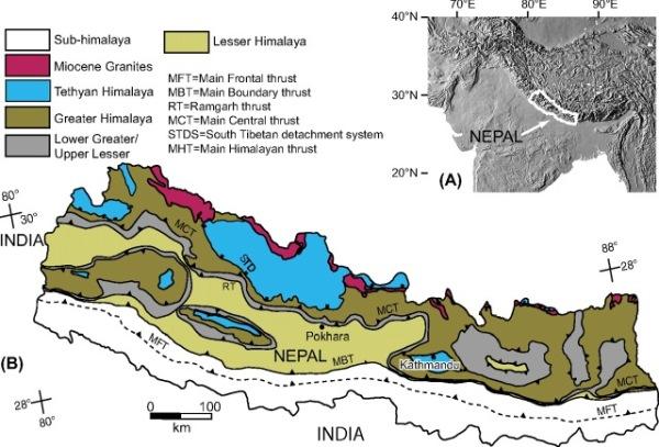 geology of nepal600