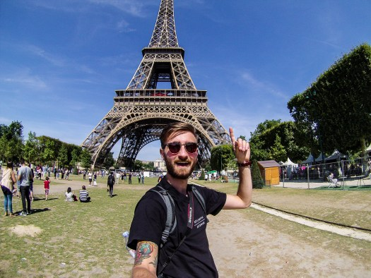 Me Exploring Paris
