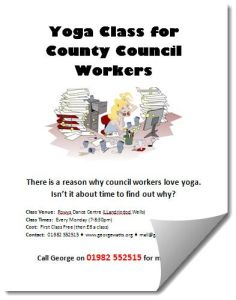 Yoga For County Council Workers