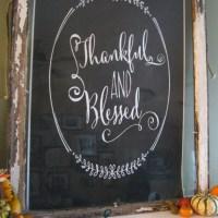 Chalkboard Art for under $5