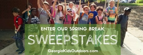 Win a $50 gift Certificate to TreesAtlanta's Junior TreeKeepers Spring Break Camp!