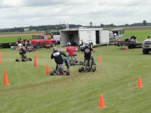 Bar Stool Racers at Gera Tractor Show in 2013
