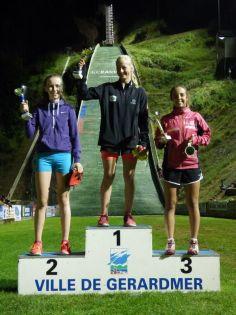 2 podium filles U15-U17