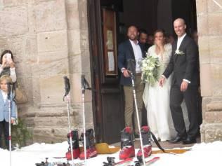 Jean-Michel & Déborah mariage neige (4)