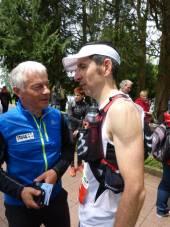 Michel Lavest réconforte Yann Nourry