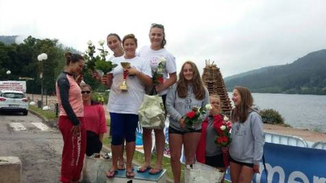 Equipe gagnante chez les filles