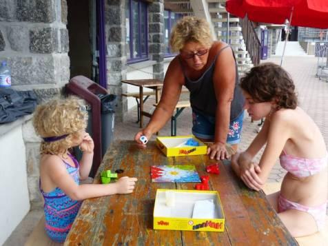 Nadine organise les animations de la Ludothèque