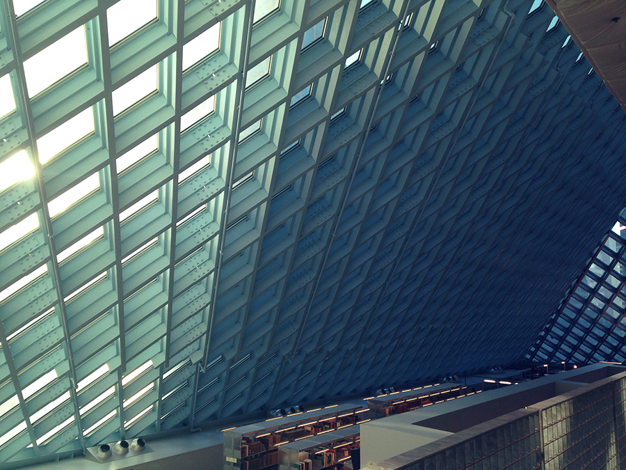 seattle library, architecture