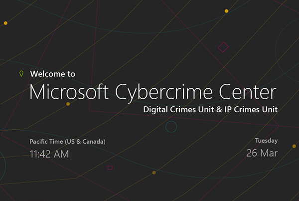 Microsoft Cybercrime Center Interactives