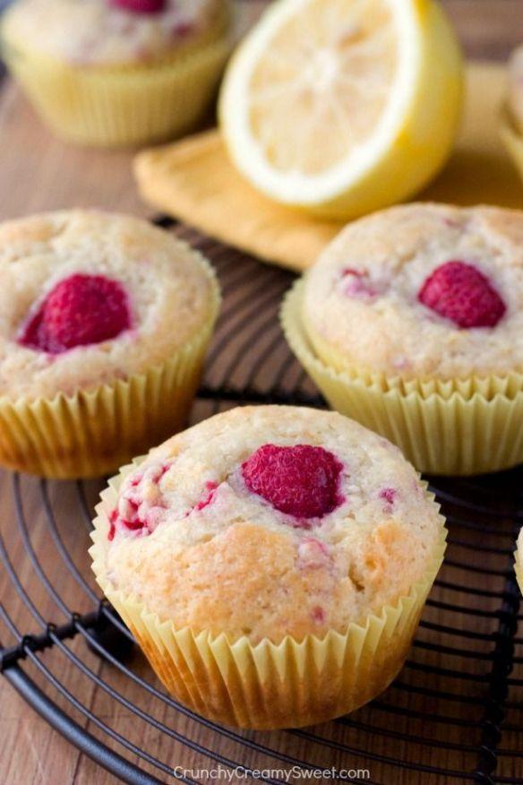framboos citroen muffins