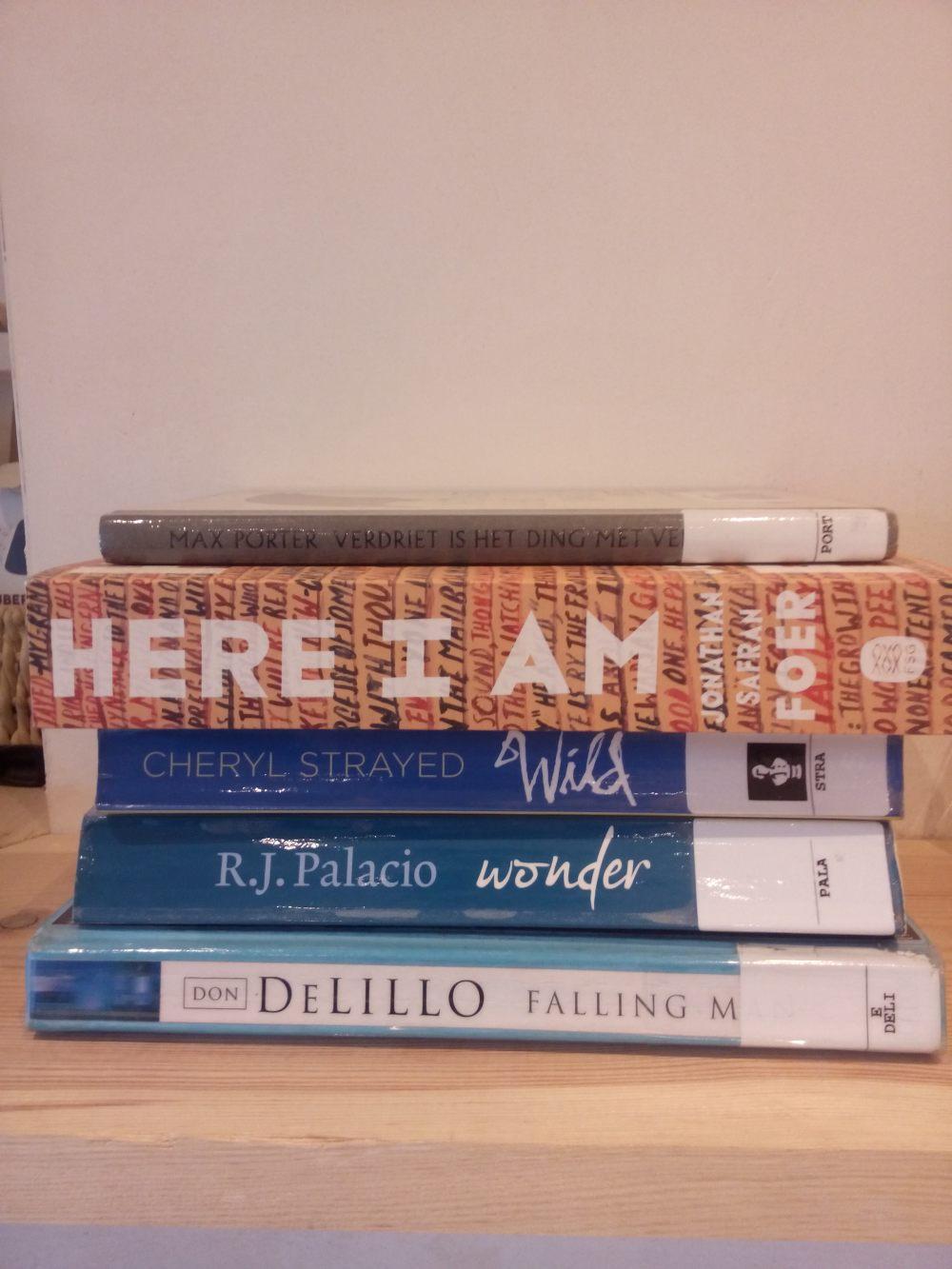 Mijn selectie boeken voor de leesclub #2