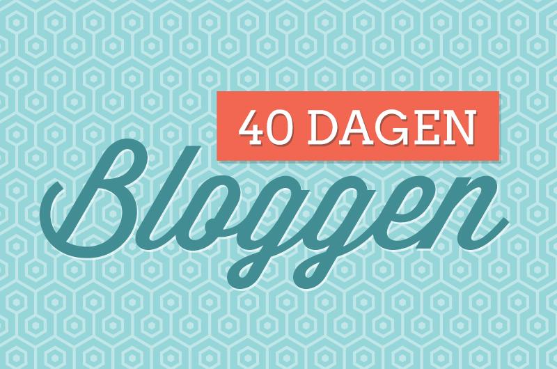 #40dagenbloggen