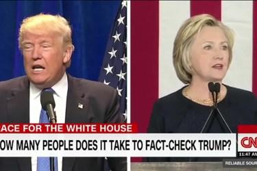US-Wahlkampf 2016; Quelle: CNN