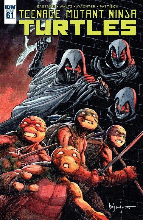 Teenage Mutant Ninja Turtles #61 (2016)