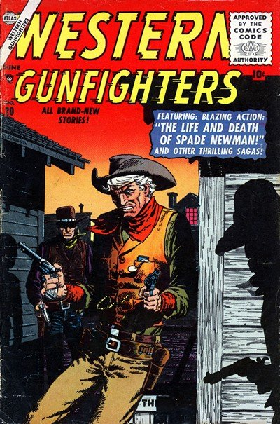 Western Gunfighters #20 – 27 (1956-1957)