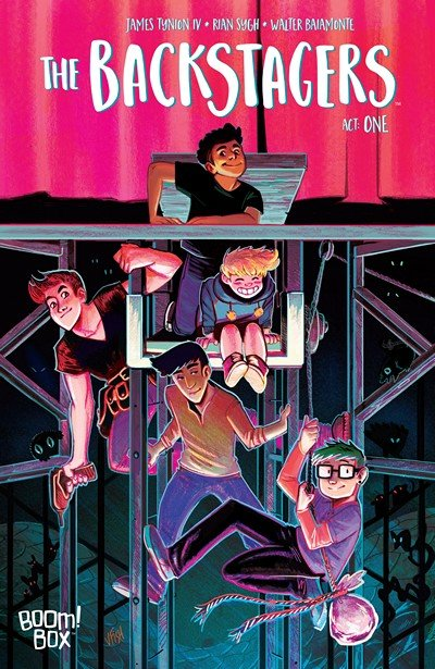 The Backstagers #1 – 3 (2016)
