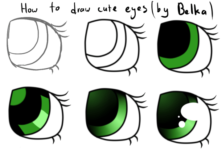 pictures of cute eyes to draw daily health