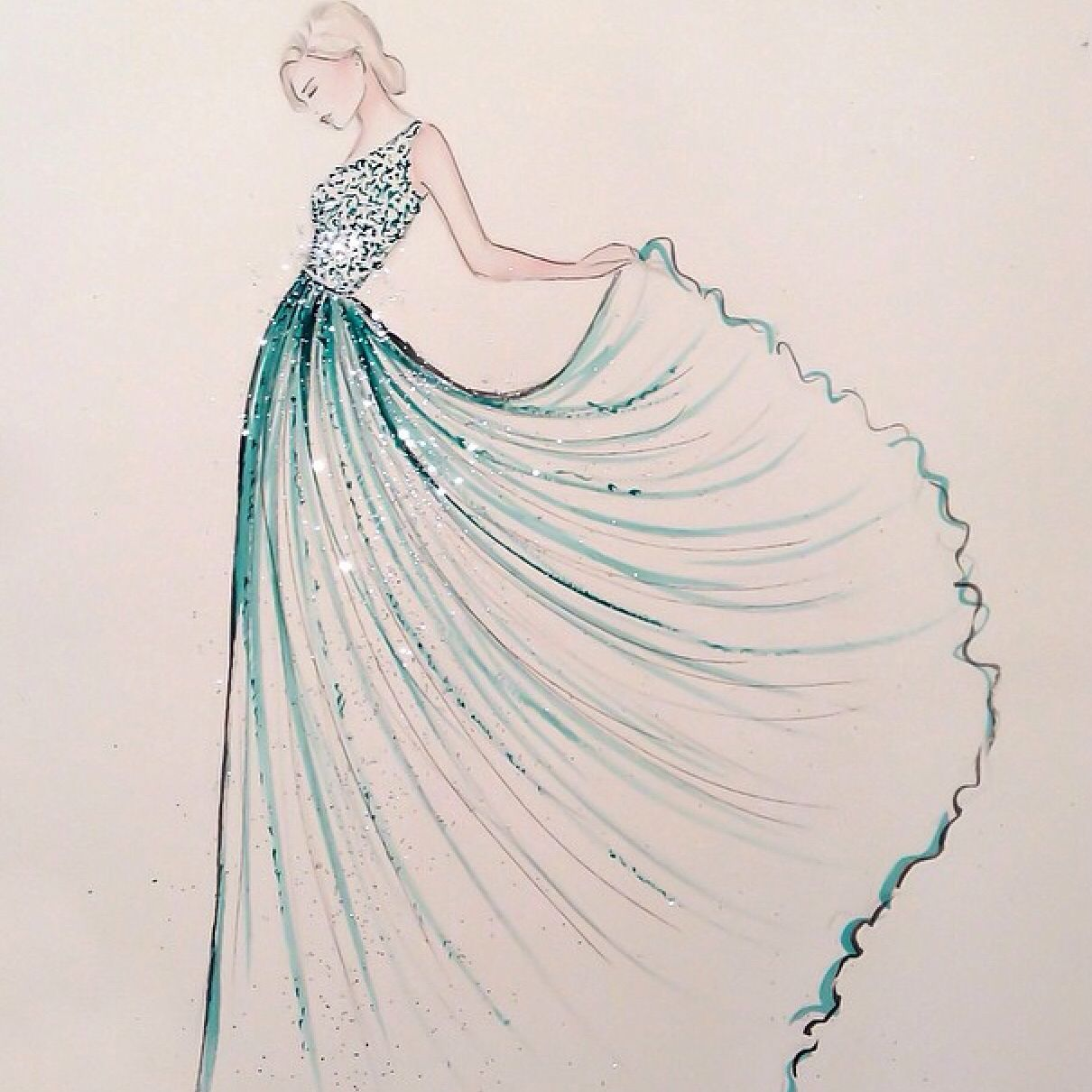 Beauteous Personal Use Easy How To Draw Dresses How To Draw Dresses App Somehow That Was Everything Easy Dress Drawing At Free She Lost Him But She Found Herself wedding dress How To Draw Dresses