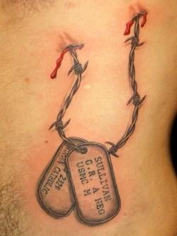 Small Of Dog Memorial Tattoos