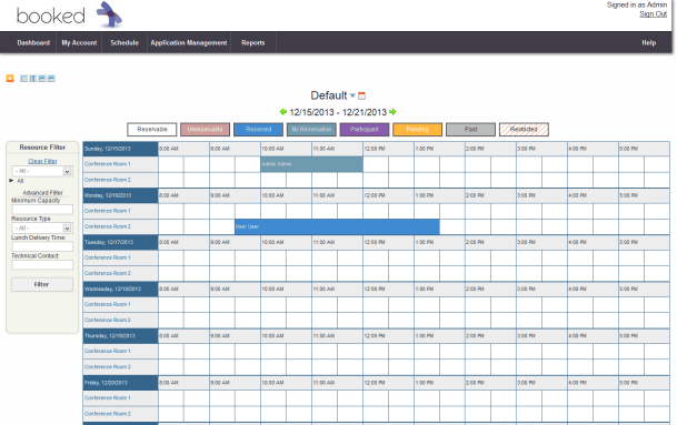 conference room schedule template 555