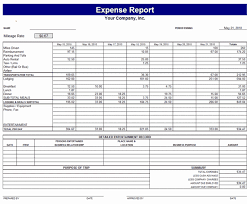 100 Excel Expense Report Template 20 Editable Log
