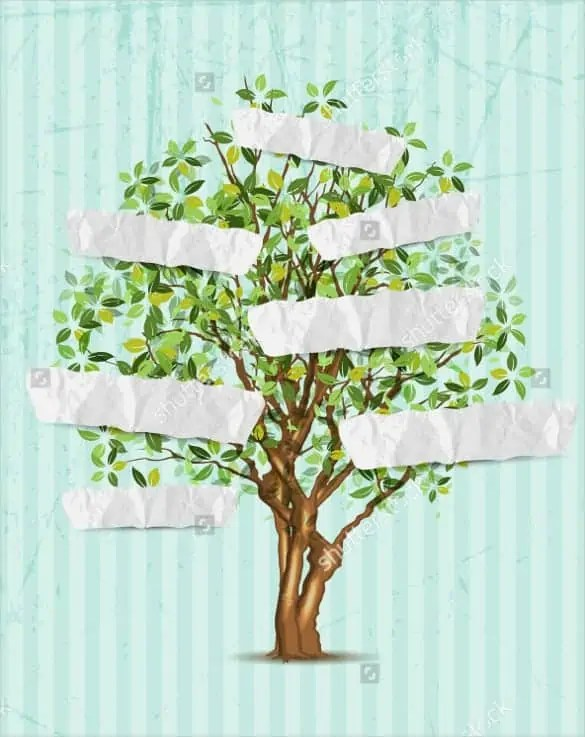 family tree template 41212