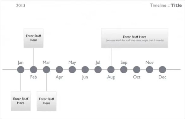 project timeline template 666