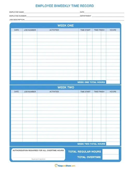 time card template 222