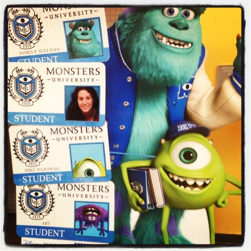 Monsters University ID