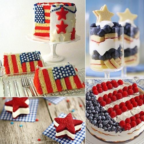 Fourth of July Dessert Inspirations