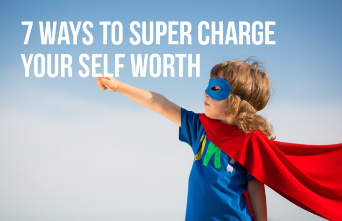supercharge your self worth