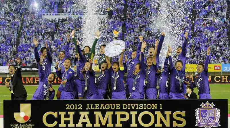 Sanfrecce 2012 J League Champions