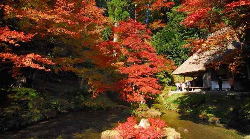 yoshimizuen hiroshima autumn fall colors