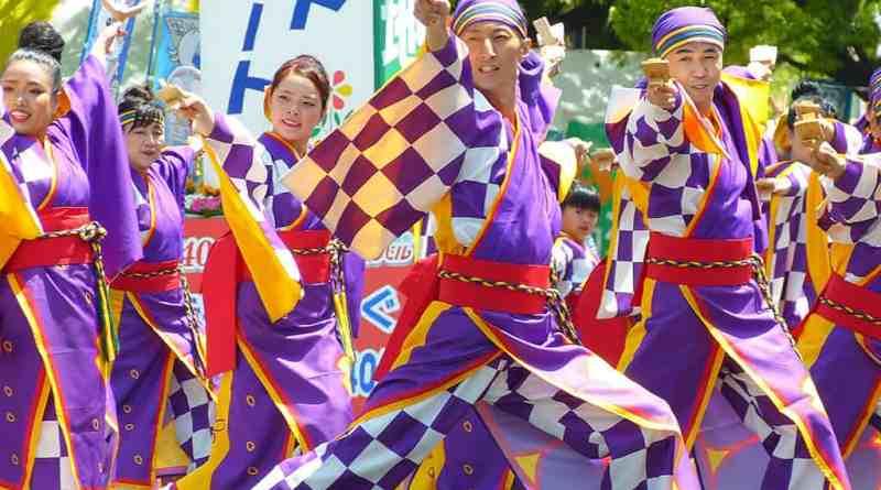 Hiroshima Flower Festival Yosakoi Dance Parade 2016