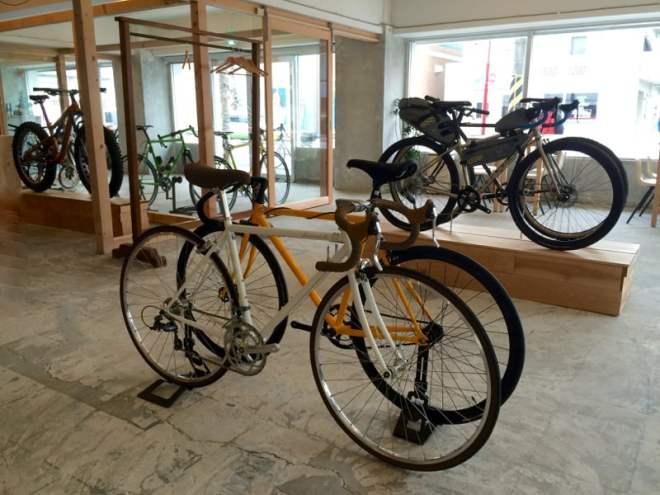 Cycle Shop Grumpy - display