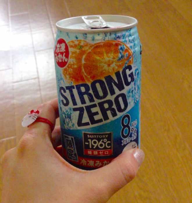 Mandarin Orange Strong Zero