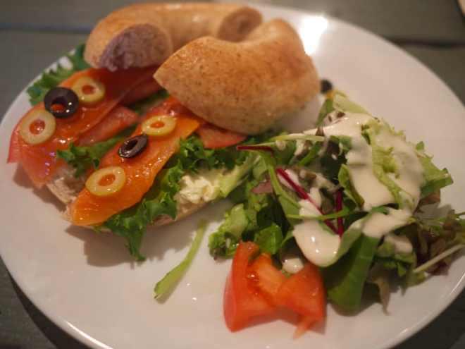Kitchenette food