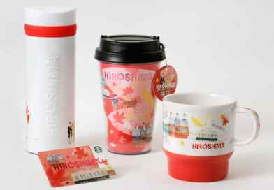 Starbucks targets souvenir market with new Hiroshima-themed product line up