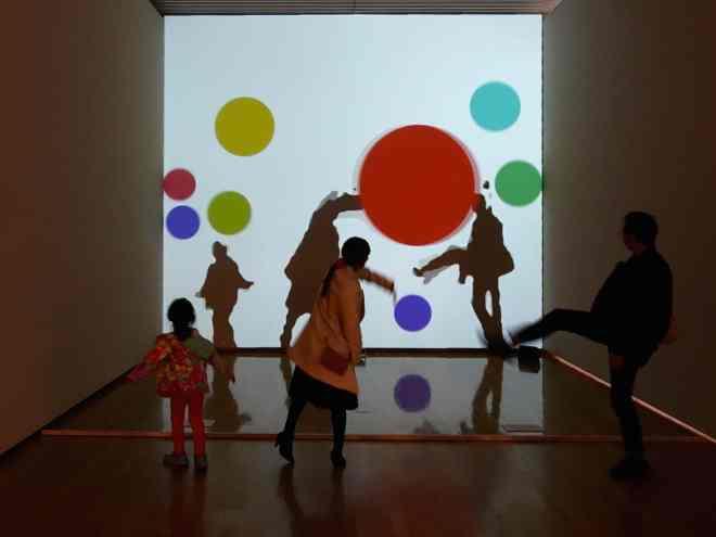 magical art museum immersive shadow class=