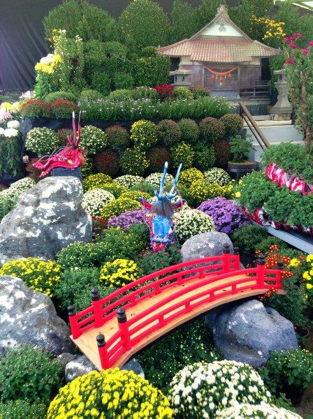 hiroshima castle chrysanthemum exhibition