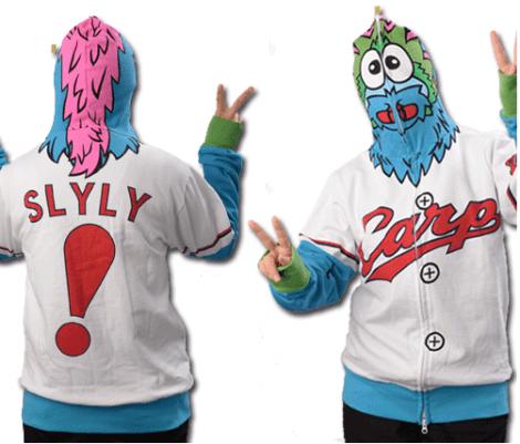 Slyly hoodie example