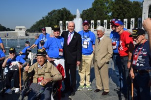 Photo with Senator Hatch