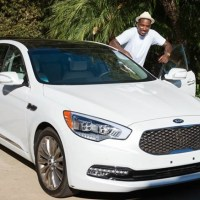 [Photos] New York Knicks' J.R. Smith (@TheRealJRSmith) Stopping By The KIA Motors Malibu Estate
