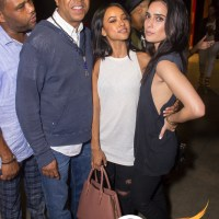 Karrueche Tran, Anthony Anderson and Russell Simmons spotted at Celsius-sponsored Def Jam Comedy Night! [Photos]