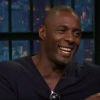 Seth Meyers Tells Idris Elba His Mom is a Superfan - Late Night with Seth Meyers
